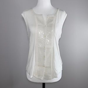 AEO Sleeveless Top With Sequins